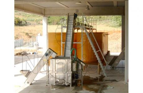 Schiumatura e Curatura Castagne in acqua - Nunziata Tecnologie Agroalimentari