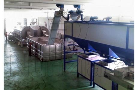 Linea Sterilizzazione Castagne - Nunziata Tecnologie Agroalimentari