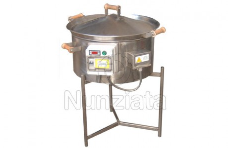 Vendita caldarroste pentola produzione - Nunziata Tecnologie Agroalimentari
